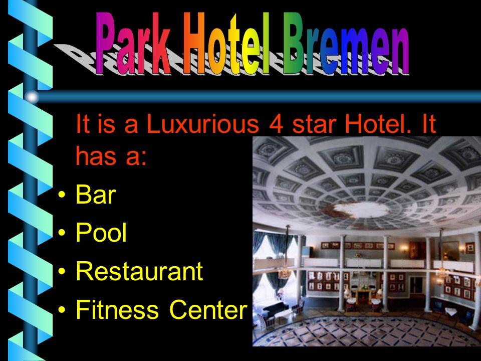 Bar Pool Restaurant Fitness Center Park Hotel Bremen