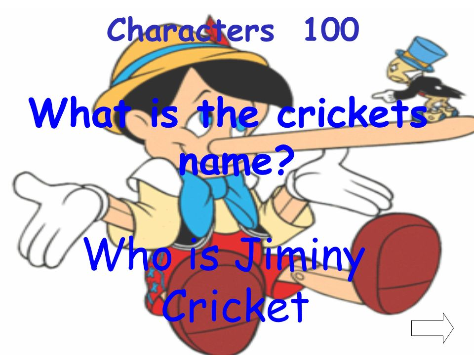 What is the crickets name