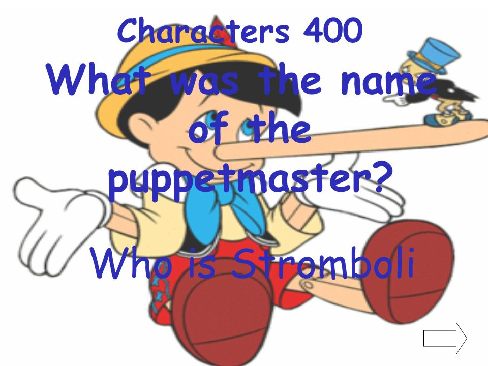 What was the name of the puppetmaster