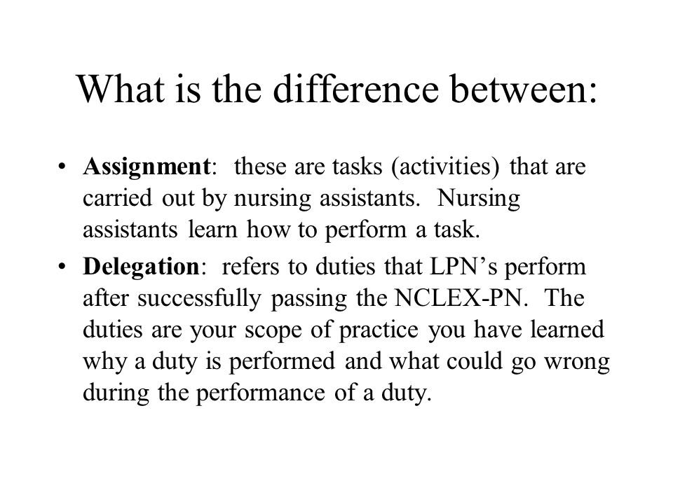 difference btw bsn and adn