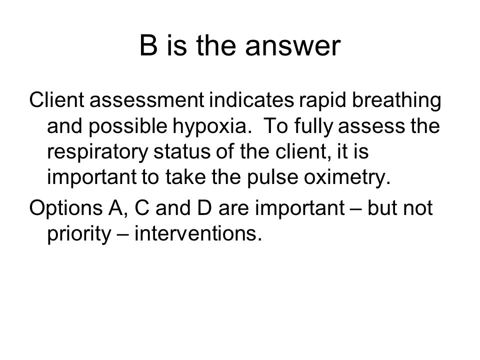 B is the answer