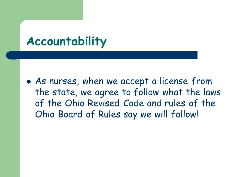nursing standards The national council of state boards of nursing (ncsbn) works with boards of nursing to protect the public's health by assuring nurses provide competent care.