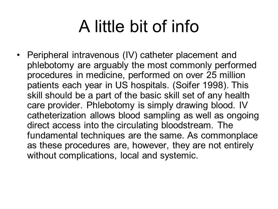 A little bit of info