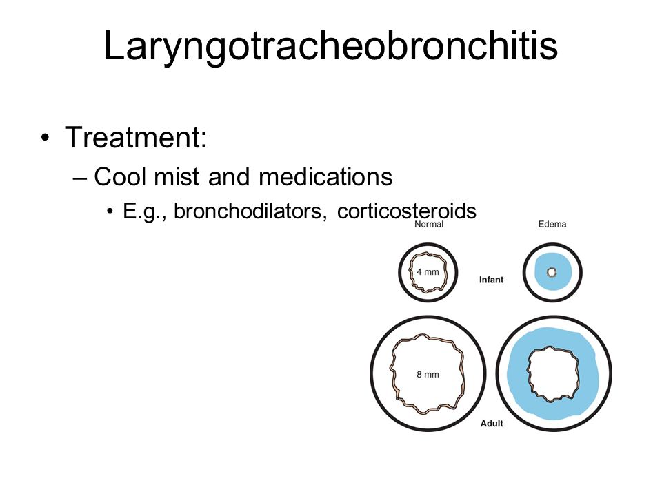 Laryngotracheobronchitis