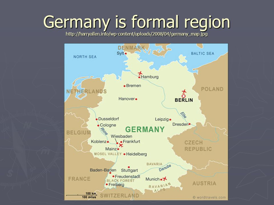 Why are regions so hard to define ppt video online download 19 germany is formal region httpharryallen sciox Image collections