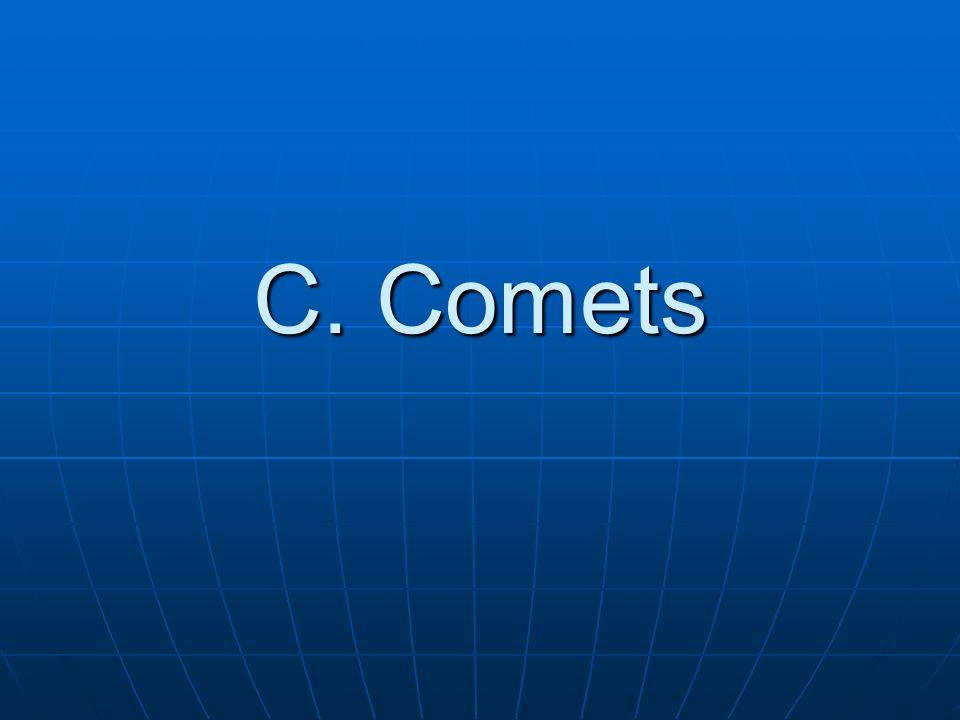 C. Comets