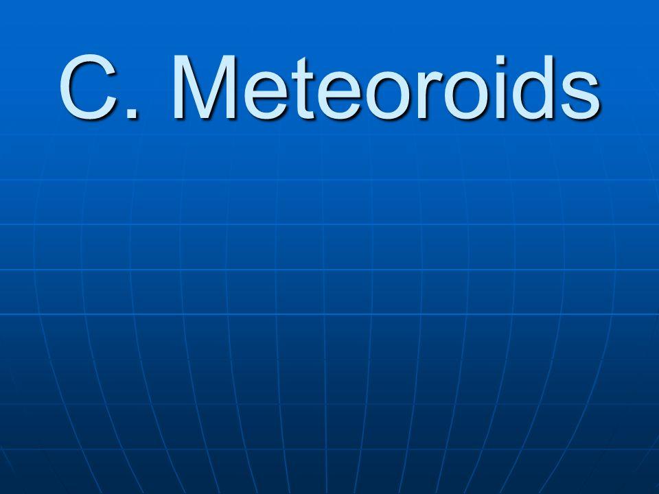 C. Meteoroids
