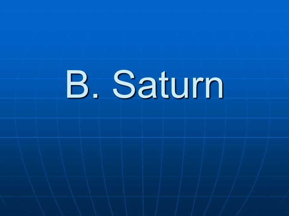 B. Saturn