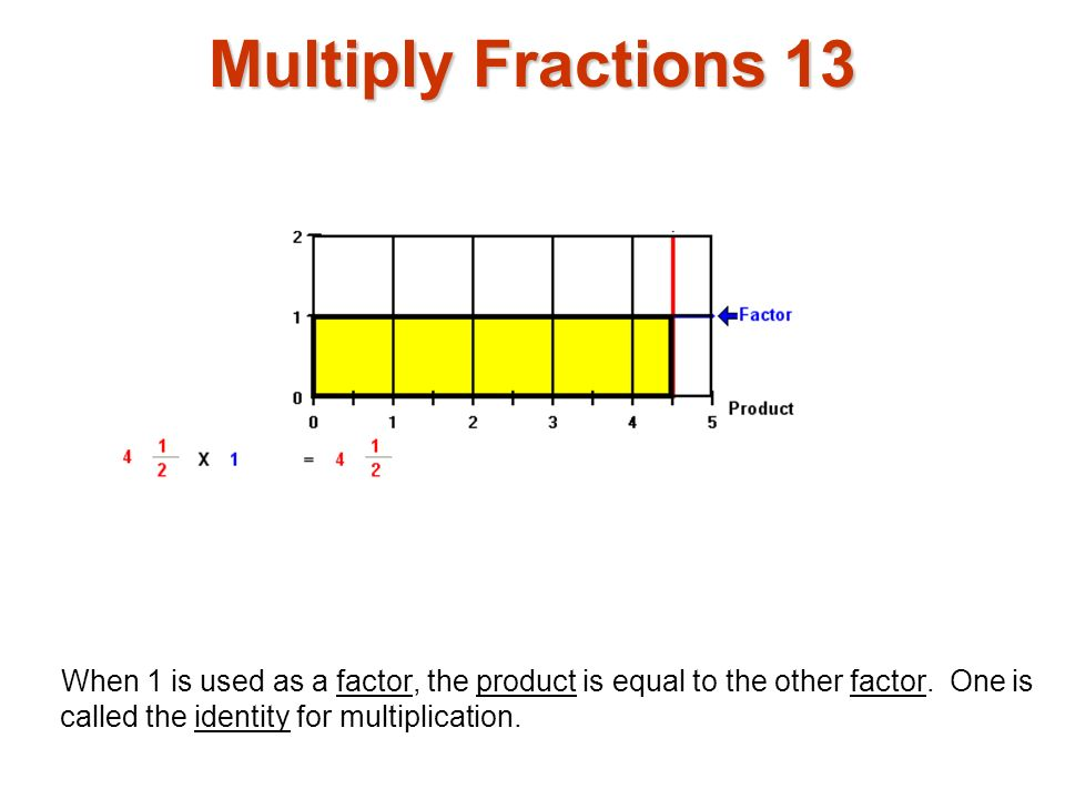Multiply Fractions 13 Multiply fractions1.