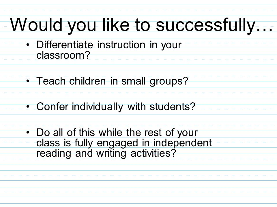 Would you like to successfully…