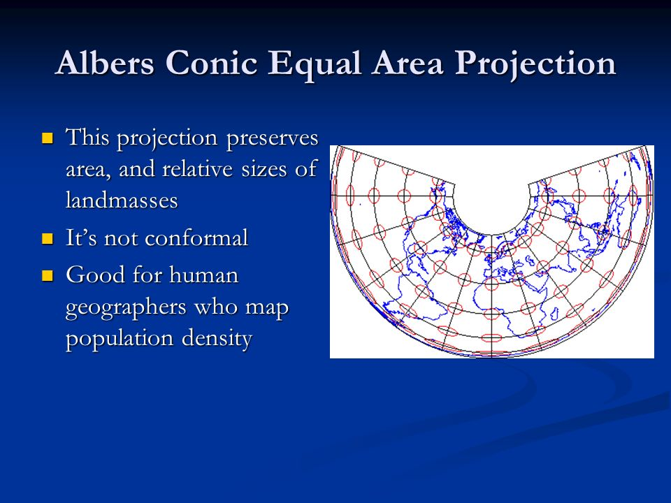 Albers Conic Equal Area Projection