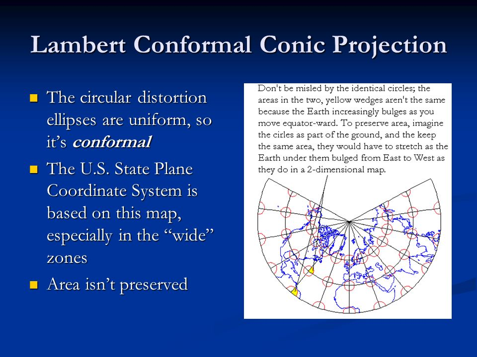 Lambert Conformal Conic Projection