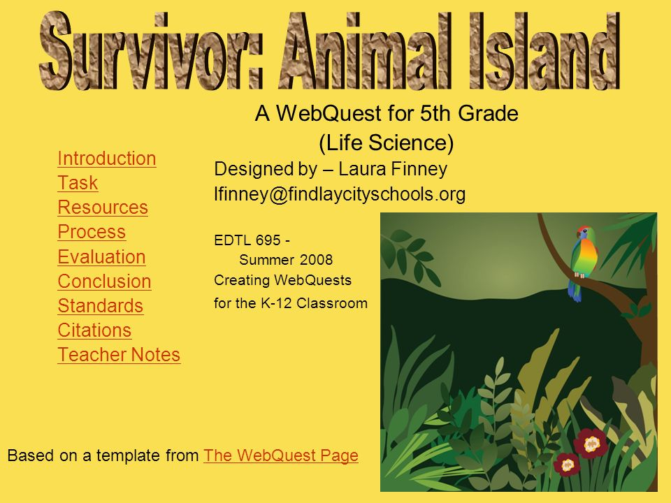 Survivor: Animal Island