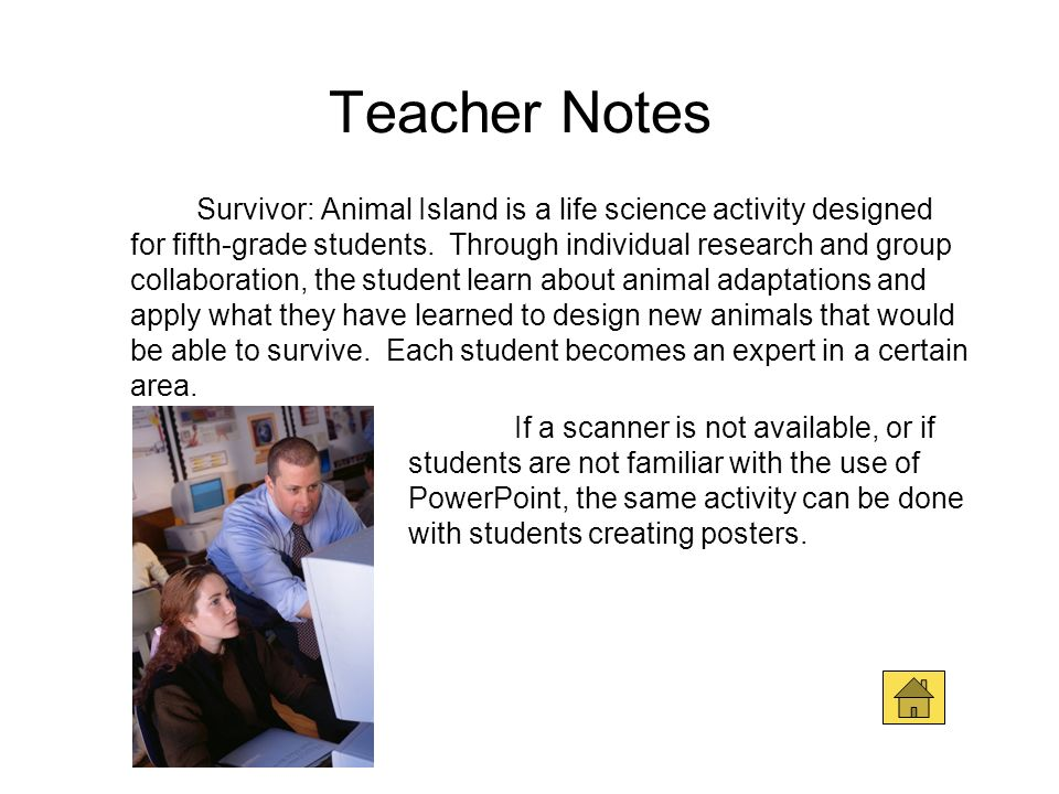 Teacher Notes