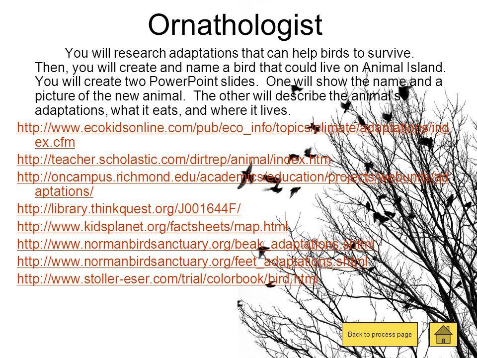 Ornathologist