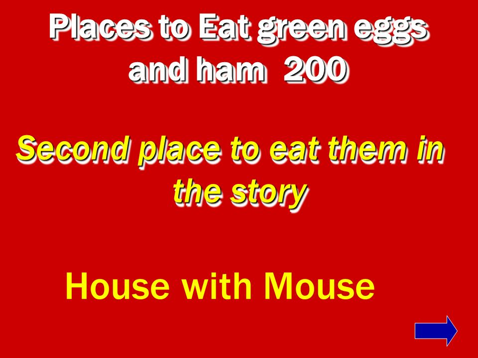 Places to Eat green eggs and ham 200