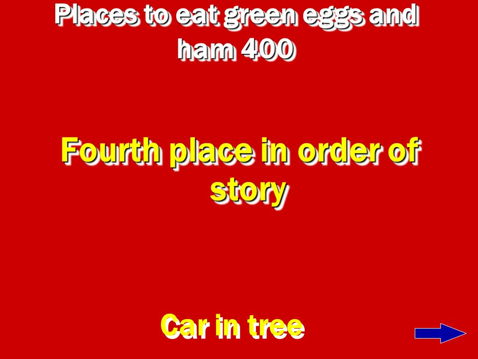 Places to eat green eggs and ham 400