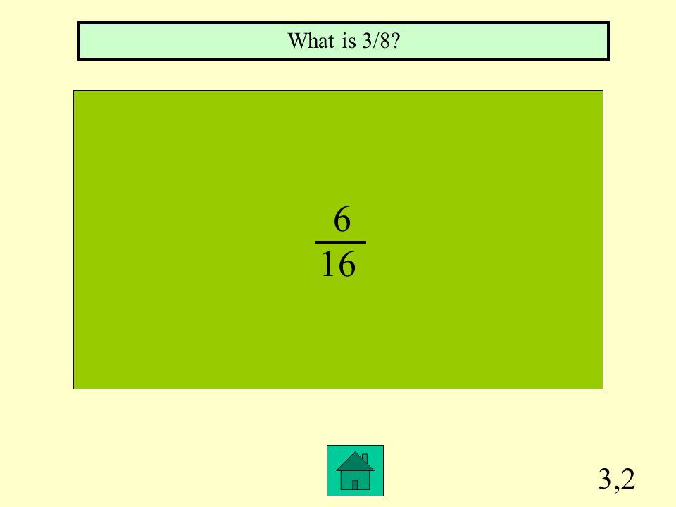 What is 3/8 6 16 3,2