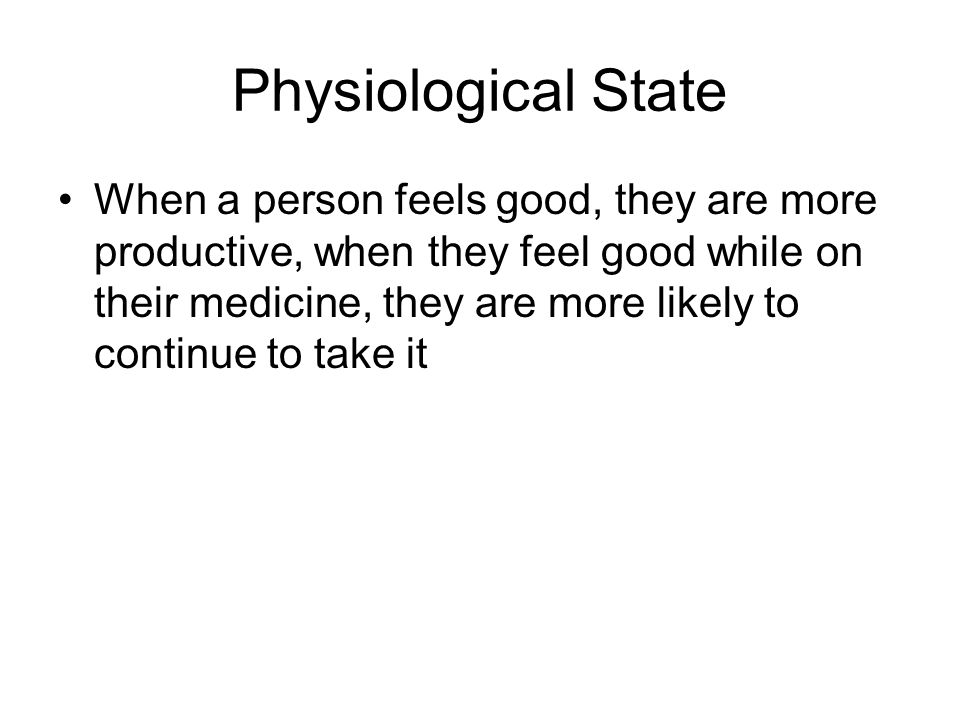Physiological State