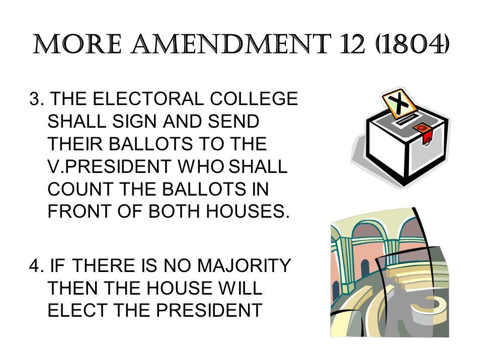 MORE AMENDMENT 12 (1804)