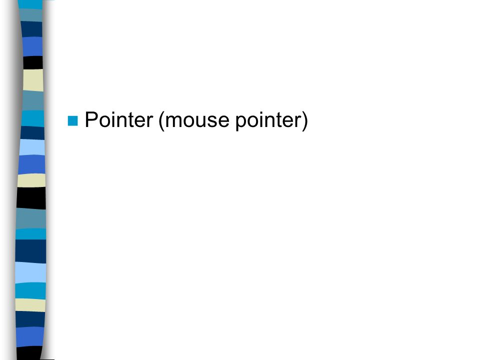 Pointer (mouse pointer)