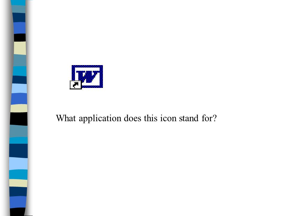 What application does this icon stand for