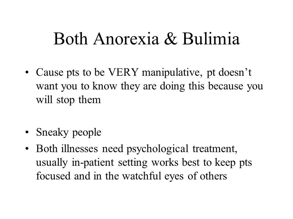 Both Anorexia & Bulimia