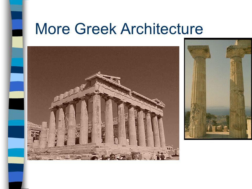 More Greek Architecture