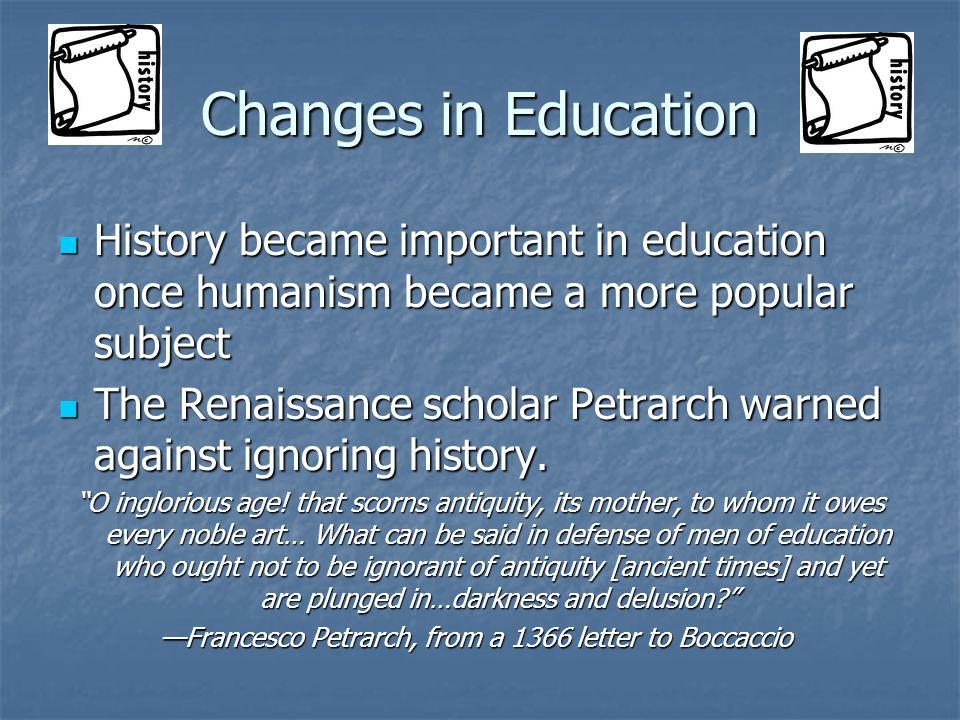 —Francesco Petrarch, from a 1366 letter to Boccaccio