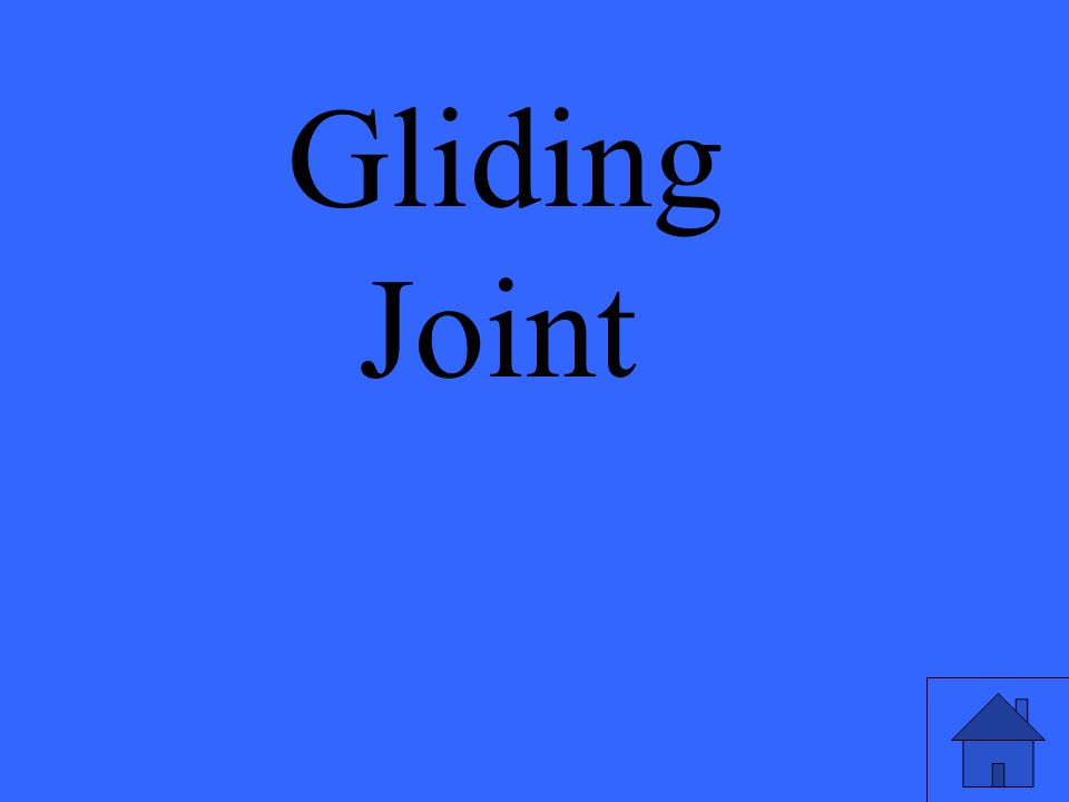 Gliding Joint