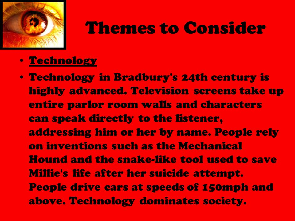 alienation in fahrenheit 451 Inner party, telescreens, alienation - isolation in 1984 by george orwell and fahrenheit 451 by ray bradbury.