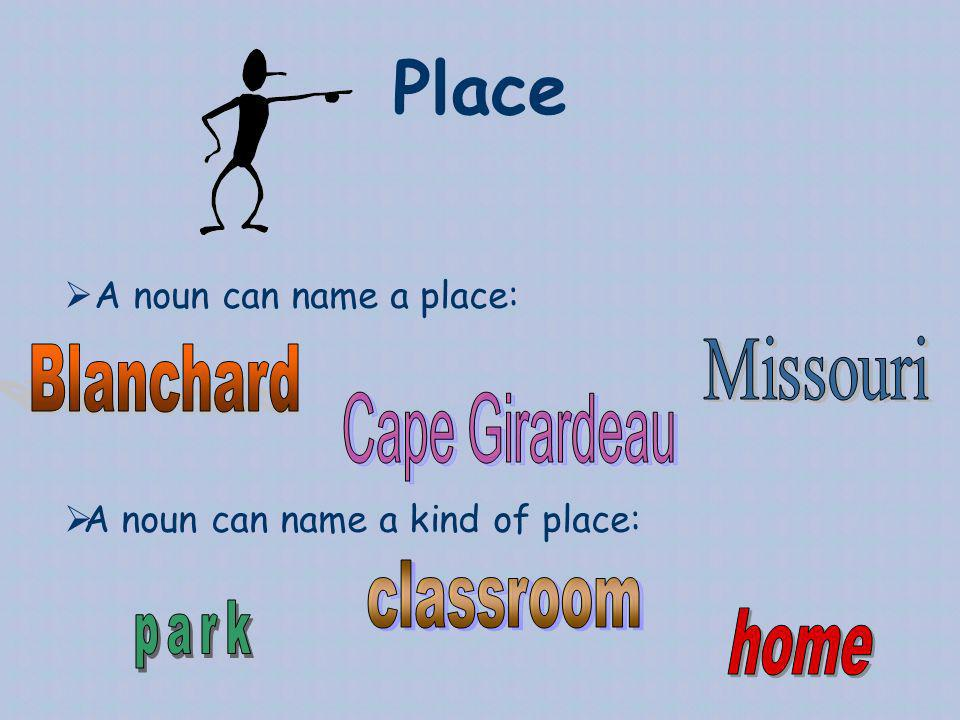 Place Missouri Blanchard Cape Girardeau classroom park home
