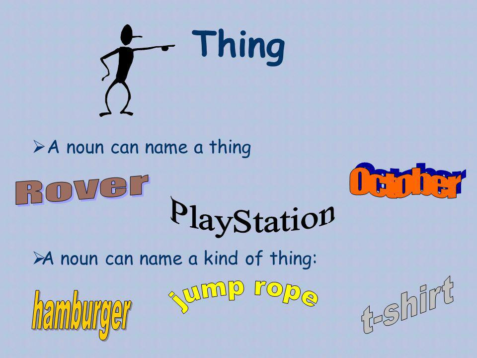 Thing October Rover PlayStation t-shirt hamburger jump rope