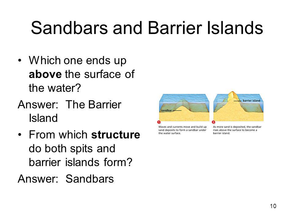 Sandbars and Barrier Islands