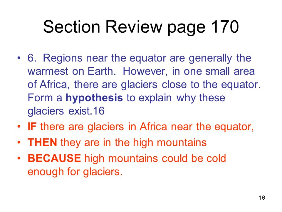 Section Review page 170