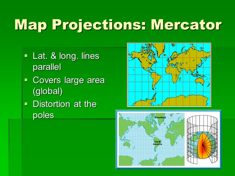 Map Projections: Mercator