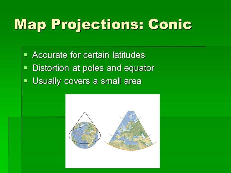 Map Projections: Conic