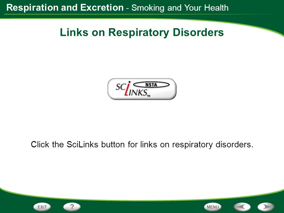 Links on Respiratory Disorders