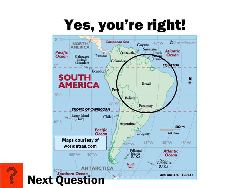 Maps courtesy of worldatlas.com