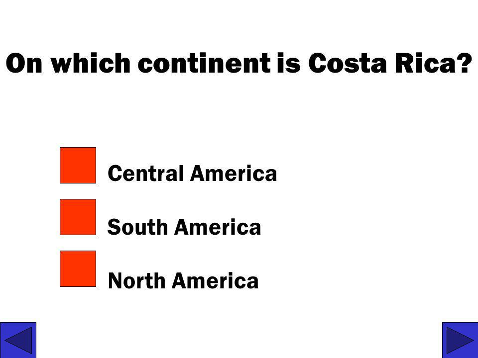 On which continent is Costa Rica