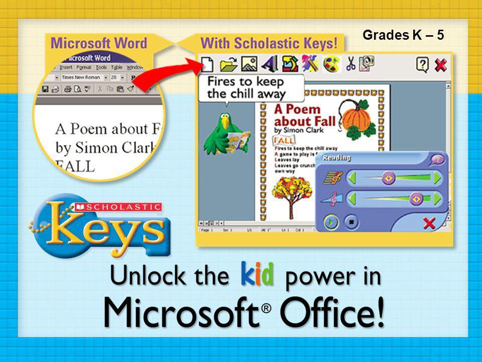 Grades K – 5 Scholastic Keys