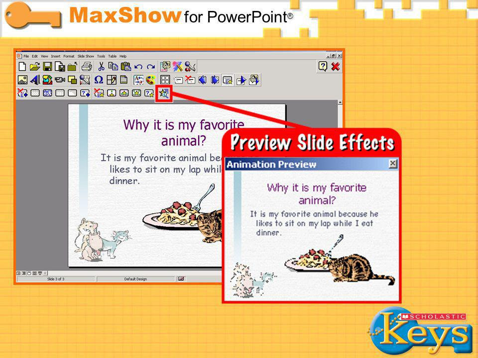 Slide Effects MaxShow for PowerPoint®