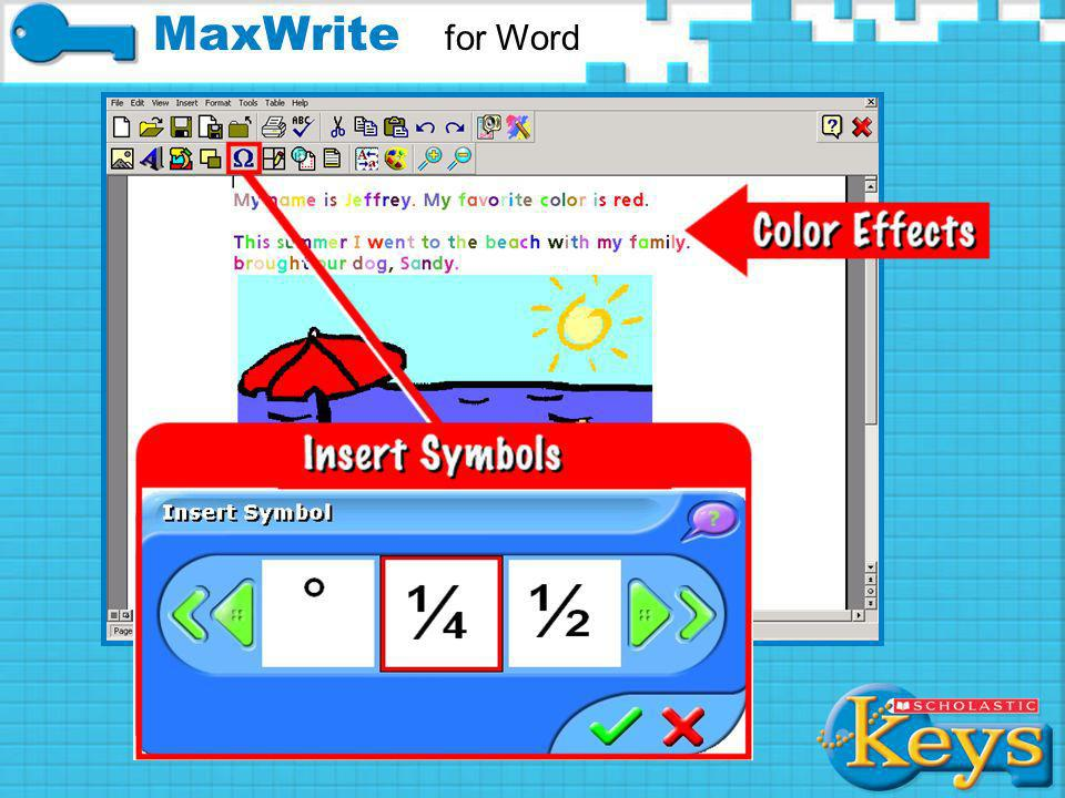 Text Effects MaxWrite for Word