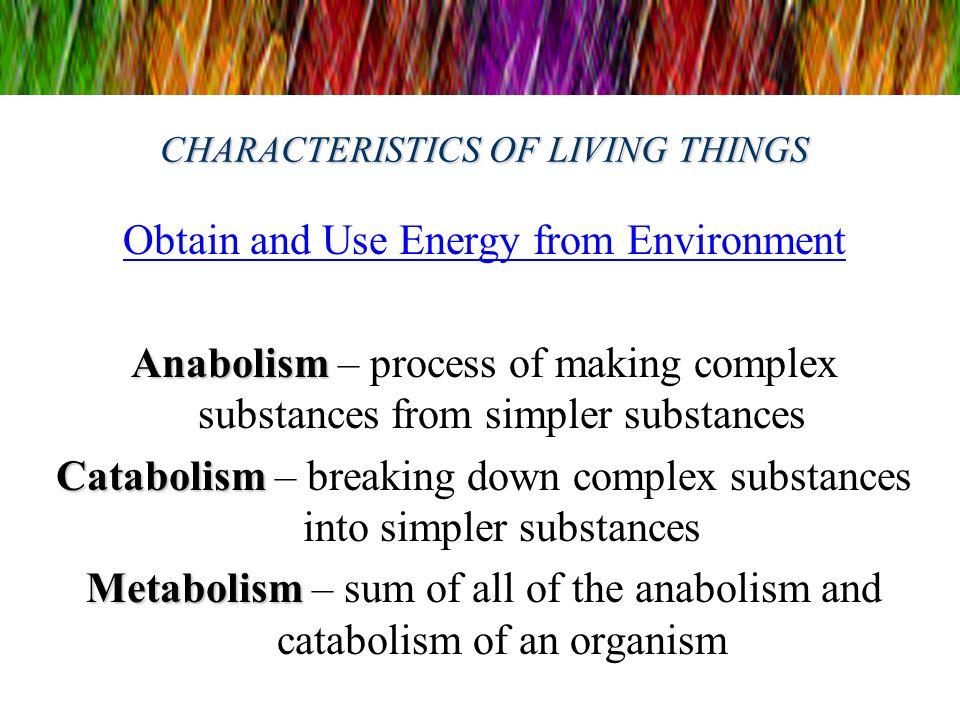 8 Characteristics of