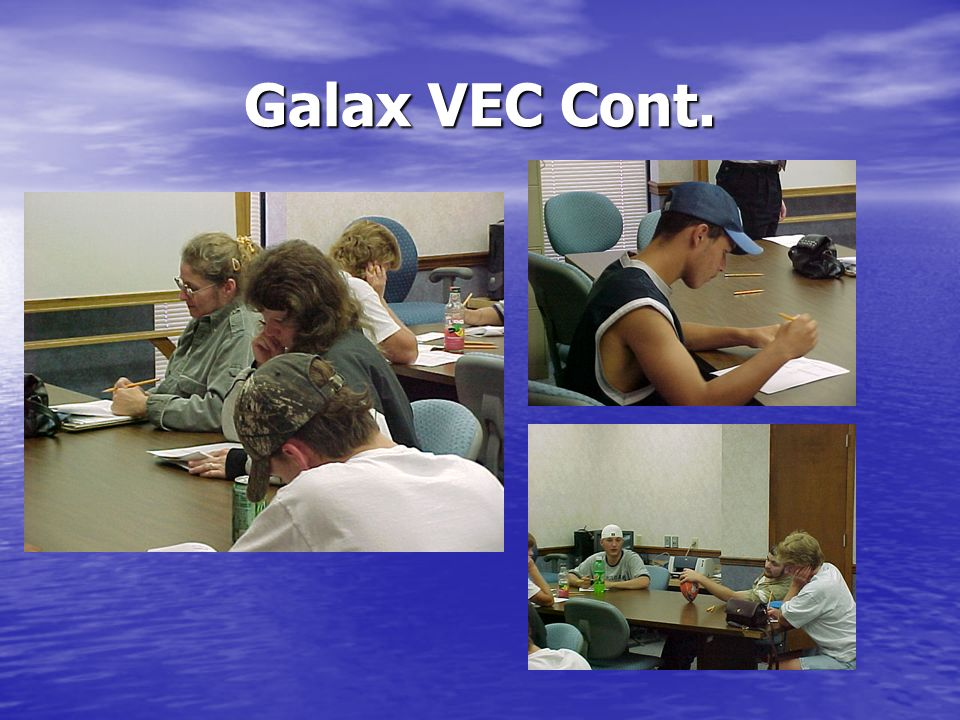 Galax VEC Cont.