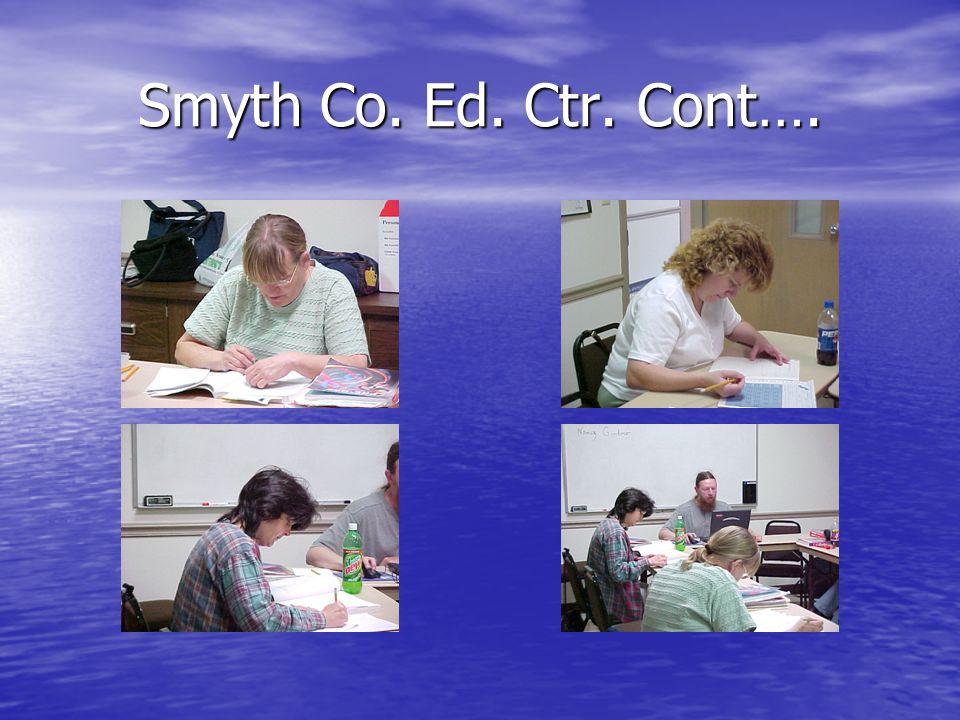 Smyth Co. Ed. Ctr. Cont….