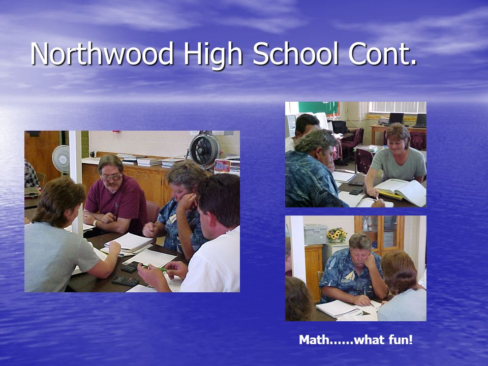 Northwood High School Cont.