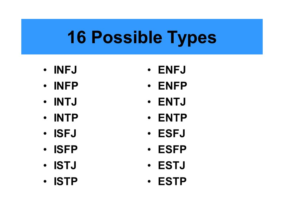 infj and enfp dating an esfj