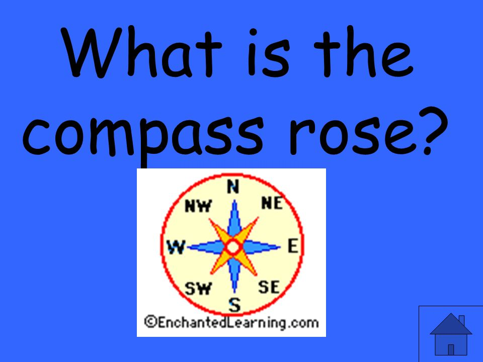 What is the compass rose