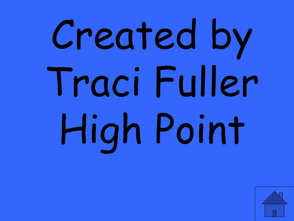 Created by Traci Fuller High Point